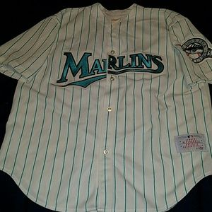 57b030116a9 CCM MLB Basesball Other - Vintage Rare CCM Florida Marlins Authentic Jersey